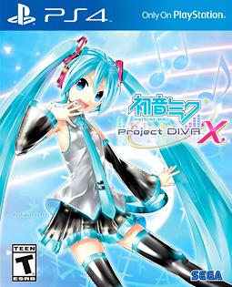 Miku project diva X